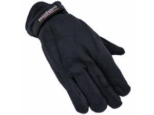 Navy Blue Polar Fleece Men's Thermal Insulated Gloves