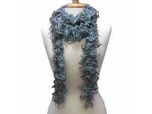 SOFT WISPY LACE KNIT SCARF