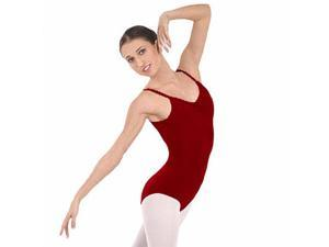 Burgundy Adult Camisole Leotard