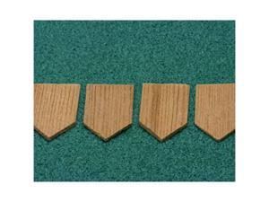 Dollhouse ECONOMY CEDAR SHINGLES, DIAMOND, 1000/PK