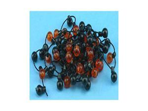 Dollhouse HALLOWEEN GARLAND 36IN 6MM BALL