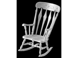 Dollhouse M-530 ARROWBACK ROCKER MINIKIT, WHITE