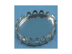 Dollhouse TINY MIRRORED TRAY, SILVER