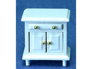 Dollhouse White Night Stand