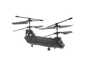 Syma S026G Mini 3 Channel RC R/C Transport Helicopter Chinook with Gyro 2 Rotor Wing