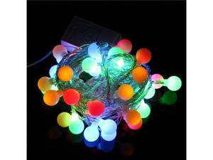 RGB 50 LED 5M Colorful Christmas/Decoration String Lights with DC Joint EU 220V