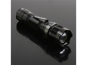 Waterproof CREEQ5 Led Flashlight Torch Lamp Zoomable Adjustable 180 Lumens 3-Mode