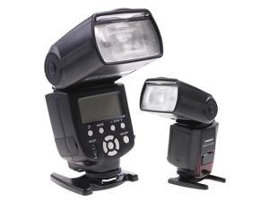 Black YongNuo YN560II Flash Speedlite LCD Screen for Canon 5D Mark II 7D 600D 550D