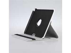 "White Rotating PU Leather Case Cover Stand for Samsung Tab Galaxy Note 10.1"" N8000"