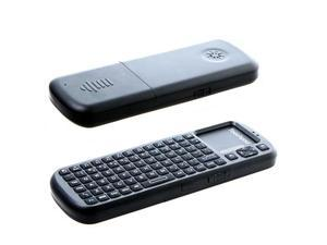 2.4G RF Wireless iPazzPort Handheld Keyboard Touchpad with Smart TV/PC Remote