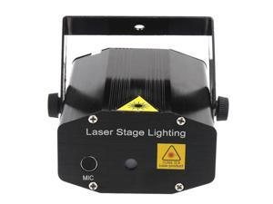 Mini Red & Green Moving Party Stage Laser Light Projector