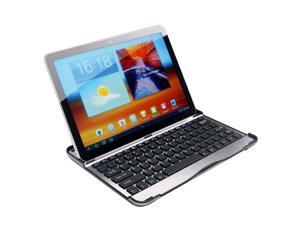 "Aluminum Bluetooth Keyboard Case Cover with Stand for Samsung Galaxy Tab 10.1"" P7500/7510/5100"