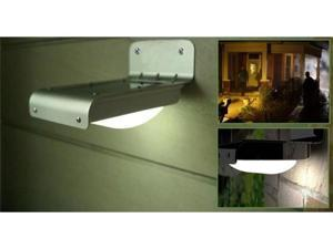Solar Motion Sensor 16-LED Home Security Outdoor Light
