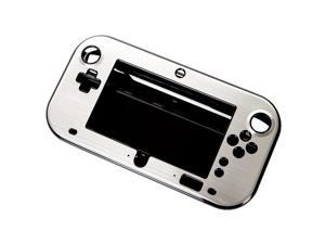 Silvery Aluminum Case Cover for Nintendo Wii U Gamepad Remote Controller