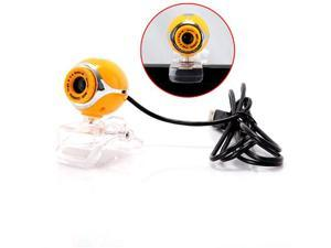 USB 50.0M HD Webcam Camera Web Cam With Mic for Desktop PC Laptop Computer Yellow