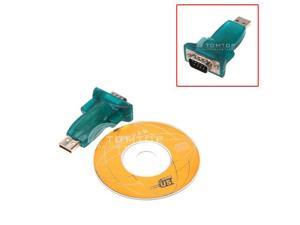 New USB2.0 to RS232 Serial DB9 Adapter Converter