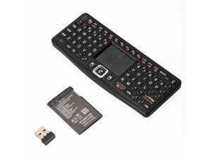 2.4GHz Wireless Rii Mini N7 Keyboard Touchpad Backlight