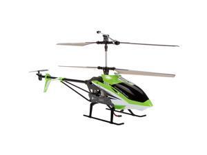 Syma S33 Green 3CH 2.4Ghz Gyro LCD Display RGB Light RC Helicopter (EU Plug)