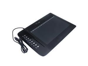 """10""""x6"""" USB Drawing Graphic Tablet Board with Cordless Digital Pen 2048 Levels Hot Keys"""