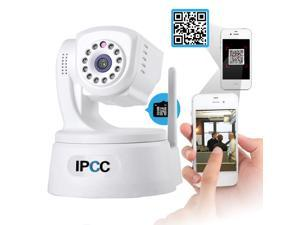 IPCC 720P ONVIF P2P Wireless IP Cloud Camera H.264 Pan/Tilt IR-Cut Night Vision Motion Detection Two Way Audio