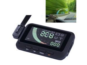 ifound Universal Car HUD Vehicle-mounted Head Up Display System OBD? Overspeed Warning