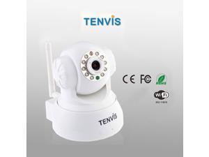 TENVIS JPT3815W Wireless Network IP Camera Webcam Security Surveillance Pan/Tilt Night Vision Motion Detection Wifi 802.11 ...