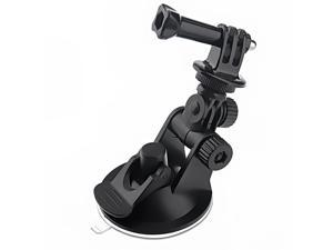 Mini Car Suction Cup Base Holder Tripod Mount Adapter for GoPro HD HERO 2/3/3+ ST-51