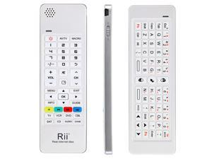Rii 2.4G Mini Wireless Keyboard Air Mouse IR Remote Audio