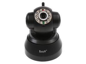 Wireless WIFI IP Camera IR LED 2-Audio Nightvision Black