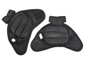 PROSOURCE PAIR OF BLACK FITNESS HEAVY DUTY 2-POUND NEOPRENE WEIGHTED EXERCISE GLOVES