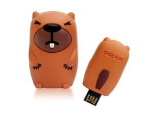 DIGILION minieyes 8GB USB 2.0 PoP-Out Flash Drive (Odo) Model FGM02B0M30031