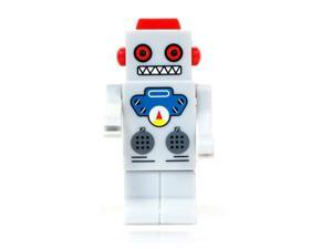 TAPAS ROBOT 8GB USB 2.0 Flash Drive with LED eyes (Gray) Model FGR09B5I02301