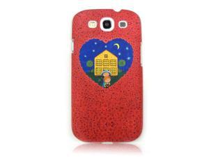 """""""One more day with you"""" by Jimmy Liao Case For Samsung Galaxy S III (heart house) FGI08MUI02002"""