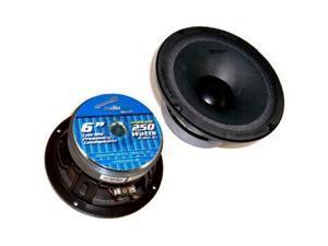 Single Nippon Apmb6 6 250w Car Audio Midbass Driver Speaker Apmb6