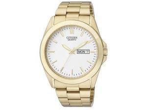 Citizen BF0582-51A Mens Quartz Gold Tone Wrist Watch