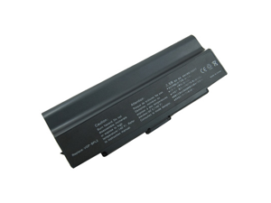 Compatible for Sony VAIO VGN FE18GP 12 Cell Battery