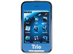 Trio Trio-Touch 4 Blue Touch 4 4Gb Mp3 Mus/Vid
