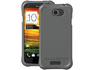 BALLISTIC LS0916-M145 HTC(R) One S(TM) LS Smooth Case (Charcoal&#59; 4 orange, 4 teal, 4 charcoal & 4 black bumpers)