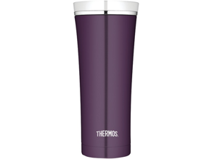 THERMOS NS105PL4 16-oz Stainless Steel Travel Tumbler (Plum)
