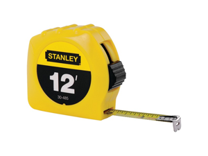 Stanley 30-485 Tape Rule 1/2 X 12