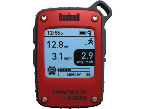 BUSHNELL 360300 D-TOUR GPS RECEIVER, RED