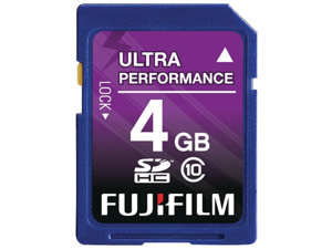 Fujifilm 600008928 4Gb Class10 Sdhc Card