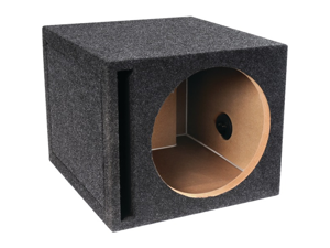 "ATREND-BBOX E10SV B BOX SERIES SINGLE VENTED SUBWOOFER ENCLOSURE (10"")"