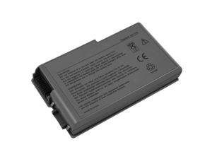 for Dell Latitude D505 6 Cell Metallic Grey Battery