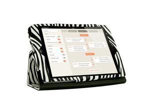 "KIQ Zebra Design Portfolio Leather Case Cover Skin for Apple Ipad Mini 7.9"" built-in Stand - OEM"