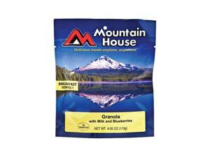 Mountain House Granola with Milk and Blueberries - Serves 1