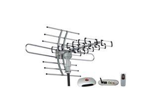 Esky® Remote Controlled HDTV Outdoor Antenna UHF/VHF 22-38dB 360 Degree Rotation