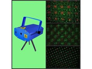 Red & Green Mini Laser Stage Lighting Projector