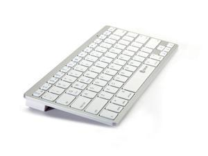 Hisgadget 132-66003-23-001 3-in-1 Cross-platform Ultra-Slim Mini Bluetooth 3.0 Wireless Keyboard for iOS Android Windows ...