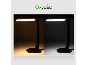 OxyLED Smart L120 Natural Light LED Desk Lamp (5 Lighting Modes, 5- Level Brightness Control,Touch Sensitive Control Panel)